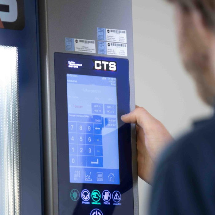 Treo, Climate tests, temperature cabinet