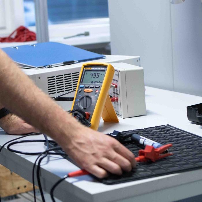 Treo, Insulation resistance test
