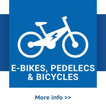 E-bikes, pedelecs & bicycles