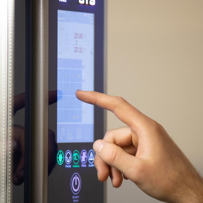Treo Klimaprüfung, Hand bedient Temperaturschrank