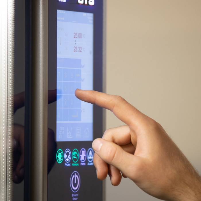 Treo, Climate tests, hand operates temperature cabinet