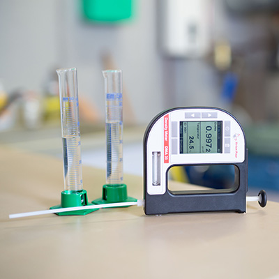 Chemical resistance testing