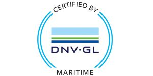 Certified by DNV-GL